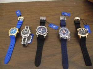 Counterfeit watches with an MSRP value of $2,791,250.