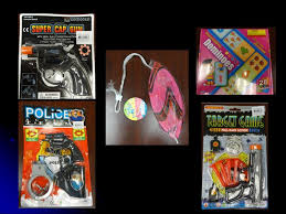 Toys that were seized after CPSC laboratory analysis determined that they contained lead.