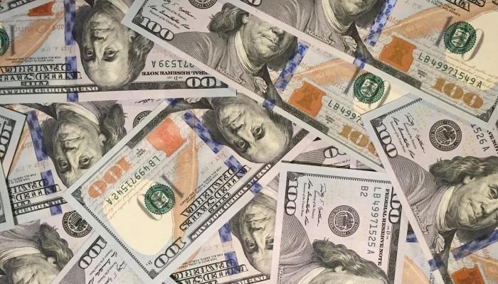 $100 Dollar Bills Slider