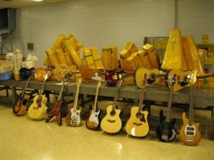 Counterfeit Guitar Seizures