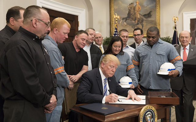 President Trump signs proclamation imposing tariffs on imported steel and aluminum