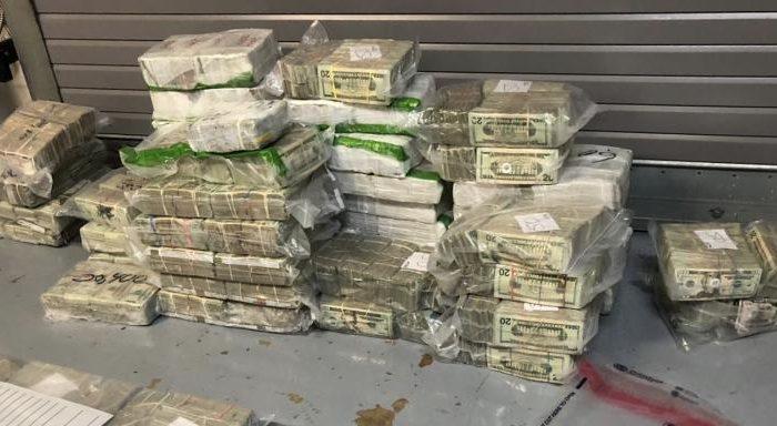 $3 million in cash bundled after a customs cash seizure