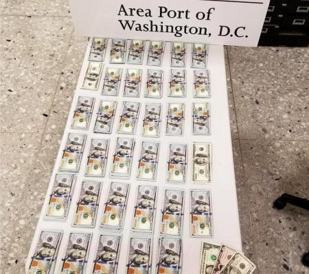 $35,000 Seized by CBP at Dulles Airport on its way to Turkey