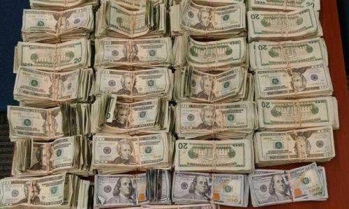 $140k in Cash Bundles seized by CBP Laredo